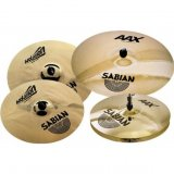 "Sabian AAX Limited Edition Performance Cymbal Set With Free 18"" X-Plosion Crash Cymbal, 25005XXP"