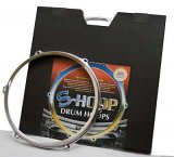 "12"" 6 Hole S-Hoop Snare Side Drum Hoop, By Safehoop Drum Rim"