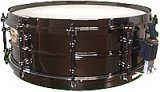 5x14 WorldMax Black Dawg Snare Drum With Deluxe Black Hardware
