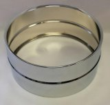 6.5x14 Steel Snare Shell, No Holes, Chrome Plated