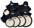 DW Complete Pad Set With Bass Drum, Cymbal, And Head Pads, DWCPPADSET3