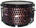 7x13 WorldMax Black Hawg Black Hammered Series Snare Drum