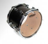 Evans Level 360 Resonant Glass/Black Tom Drumhead