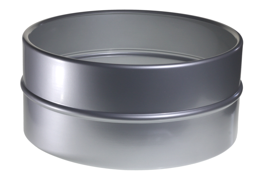 6.5x14 Seamless Spun Brushed Aluminum Shell With Center Bead, Bearing Edges, And Snare Beds