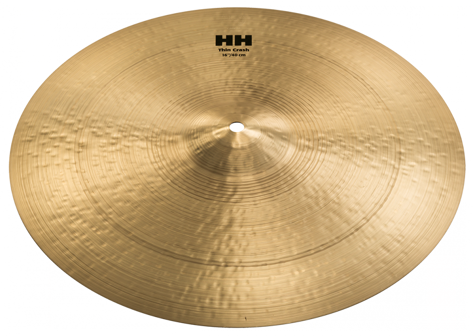 "16"" Sabian HH Hand-Hammered Thin Crash Cymbal, 11606"