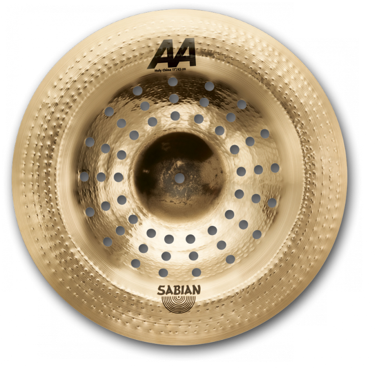 "17"" Sabian AA Holy China Cymbal, 21716CS"