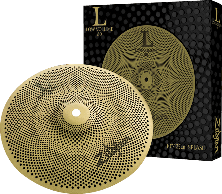 "Zildjian L80 Low Volume 10"" Splash Cymbal"