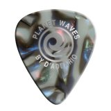 D'Addario Planet Waves 1CAB4-10 Abalone Celluloid Guitar Picks, Medium, 10 Pack