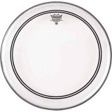 "24"" Remo Smooth White Powerstroke 3 Bass Drumhead With Falam Patch"