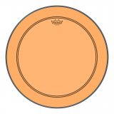 "20"" Remo Powerstroke 3 Colortone Bass Drum Head, Orange, P3-1320-CT-OG"