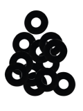 Pearl Fiber Washers For Drum Tension Rods, NP270/12