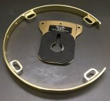 "Blemished 8"" 4 Lug DSS Tom Drum Isolation Mount, Brass, Missing Screws And Rubber Grommets"