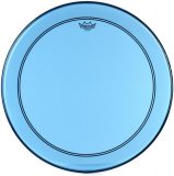 "24"" Remo Powerstroke 3 Colortone Bass Drum Head, Blue, P3-1322-CT-BU"
