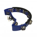 Dark Blue Hi Hat Tambourine, By dFd