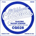 D'Addario CG028 Flat Wound Electric Guitar Single String, .028