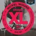 D'Addario EXL157 Nickel Wound Medium Baritone Guitar Strings