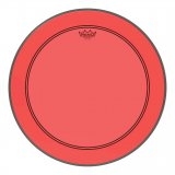 "20"" Remo Powerstroke 3 Colortone Bass Drum Head, Red, P3-1320-CT-RD"