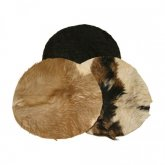 Goat Skin Drumheads With Hair