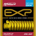 D'Addario EXP36 NY Steel 80/20 Bronze 12-String Acoustic Guitar Strings, Light, 10-47