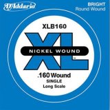 D'Addario XLB160 Nickel Wound Bass Guitar Single String, Long Scale, .160