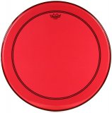 "24"" Remo Powerstroke 3 Colortone Bass Drum Head, Red, P3-1322-CT-RD"