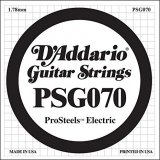 D'Addario PSG046 ProSteels Electric Guitar Single String, .070