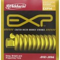 D'Addario EXP14 With NY Steel 80/20 Bronze Acoustic Guitar Strings, Light Top/Medium Bottom, 12-56