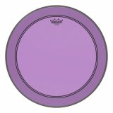 "24"" Remo Powerstroke 3 Colortone Bass Drum Head, Purple, P3-1322-CT-PU"