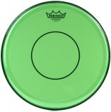 "13"" Remo Green Powerstroke 77 Colortone 2 Ply Snare Drum Drumhead, P7-0313-CT-GN"