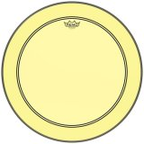"18"" Remo Powerstroke 3 Colortone Bass Drum Head, Yellow, P3-1318-CT-YE"