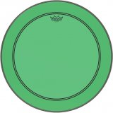 "18"" Remo Powerstroke 3 Colortone Bass Drum Head, Green, P3-1318-CT-GN"