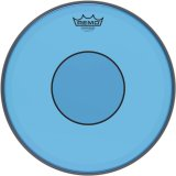 "13"" Remo Blue Powerstroke 77 Colortone 2 Ply Snare Drum Drumhead, P7-0313-CT-BU"