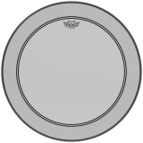"24"" Remo Powerstroke 3 Colortone Bass Drum Head, Smoke, P3-1322-CT-SM"