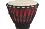 "Toca Syn Free Sty 10"" Djembe, Red"