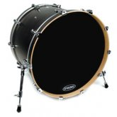 Evans Resonant Black Bass Drum Drumheads
