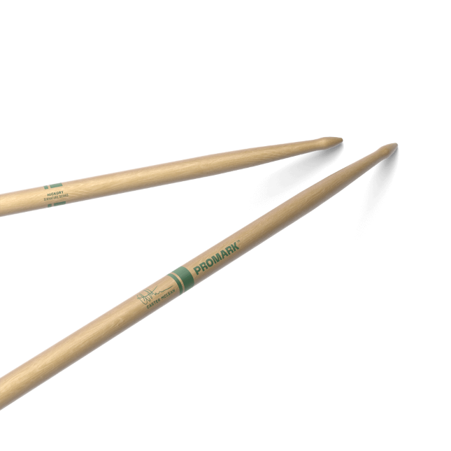 ProMark Lacquered Hickory Carter McLean Wood Tip Drumstick, RBCMW
