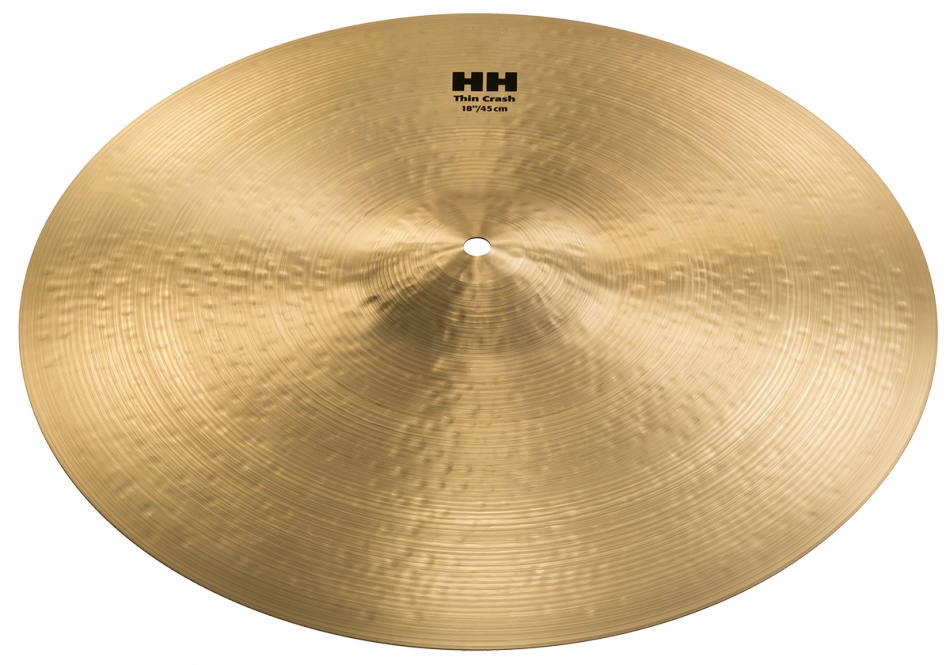 "18"" Sabian HH Remastered Thin Crash Cymbal, 11806"