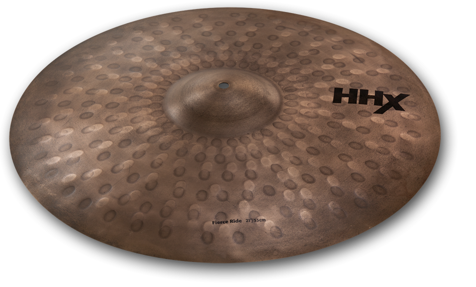 "21"" Sabian HHX Hand-Hammered Fierce Ride Cymbal, 12112XNJM"